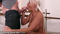 MommyBlowsBest Big Tit MILF Sucking Single's Da