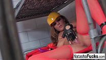Busty Natasha Nice Shows Off Her Amazing Curves