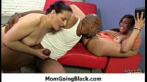 Just watch my mom going black 3