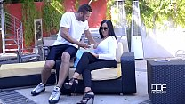Porn outdoor with beautiful curvy lady and her young neighbor thumbnail