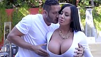 9183 Porn outdoor with beautiful curvy lady and her young neighbor preview