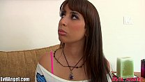 EvilAngel Teen Nails Interview by getting Nailed's Thumb