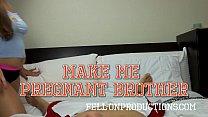 POV Blowjob & Fuck Feat. Madisin Lee in Make Me Pregnant Brother pornhub video