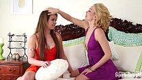 Two Hot Lesbian Sisters Having Fun Learning