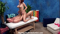 Cute red head teen pussy and ass massage hard fucking pornhub video