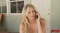 Super Delicious Julia Ann Takes On Young Stud