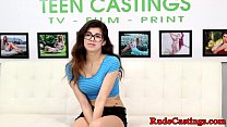 Spex teenie hard screwed at casting audition preview image
