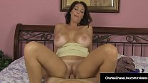 Big Titty Mommy Charlee Chase Rides Cock & Milk