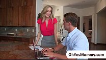 Milf Brandi Has An Erotic Massage And Ends In Threesome With Taylor