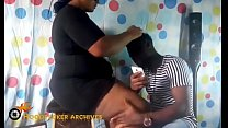 Hot BBW South African hair stylist banged in her shop by BBC. Vorschaubild