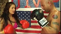 UIWP Entertainment Tina vs Man in Belly Punchin...