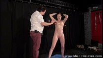 Candle wax bdsm and obedience slave training of mature submissive