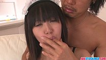 Horny Maid Kotomi Gives An Asian Blowjob And Gets Creamed
