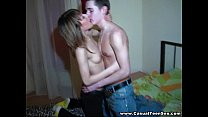 Casual Teen Sex - Girl Nastia at the student party teen-porn