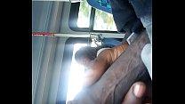 Dboan flashed a ebony Goddess on bus
