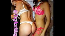 Pornstars Jenna Jay X and  Taylor May XXX at AVN awards Las Vegas Thumbnail
