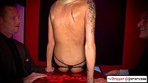 6092 The Stripper Experience - Sexy Rikki six let us watch taking two dicks at once! preview