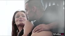 Tasty Tegan ⁃ sophie swallows cum from her lover thumbnail