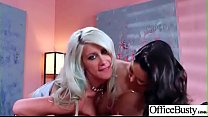 Sexy Big Boobs Girl (Ava Addams & Riley Jenner) Like Hardcore Sex In Office video-3