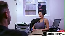 (Patty Michova) Hot Office Girl With Big Tits Love Hardcore Sex movie-24