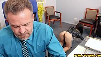 Bambi Brooks gives her dad a hot blowjob pornhub video
