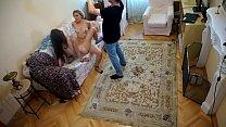 Cute Teen Lesbians on Czech porn casting