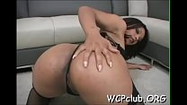 Slutty girl is not against of getting ebon dong in her dark hole pornhub video