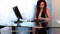Lady Scarlet audition foot fetish