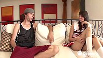 Cheerleader Emily Grey Gets A Big Messy After S...'s Thumb