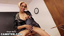 CAMSTER - In The Classroom with Skinny Cam Girl Ginger Bytes Vorschaubild