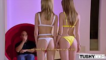 TUSHY Two Models Compete Over Who Can Gape Better Preview