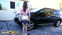BANGBROS - Petite Riley Reid Drips All Over Rico Strong's Big Black Cock thumbnail