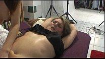 Chubby MILF has hot lesbian orgasm