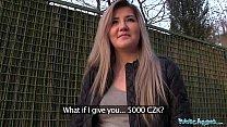 Public Agent Cute Russian loves sex for cash thumbnail
