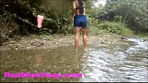 Heher Deep gets creampie  quad in river jungle - 9Club.Top