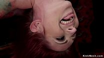 Redhead trainee banged in bondage Vorschaubild