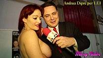 Mary Rider shows her big tits and more for Andr...
