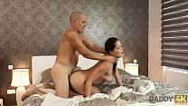 DADDY4K. Dad and young girl sex culminates with...