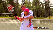 Tennis pussy slips video
