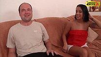 Amateur brunette loves fucking in front the cam