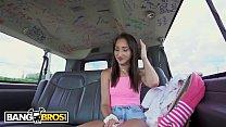 BANGBROS - Wild 19 Year Old Carmen Rae Fucked By Derrick Ferrari On Bang Bus image