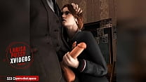 Hermione Granger Jerks Off Draco Malfoy's Cock / Harry Potter Porn - Porn-Chat.space