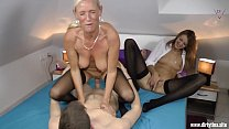 Download video bokep Two Milfs fucked hard with a young Student 3gp terbaru