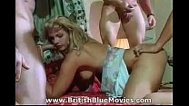 British Vintage with Leonora St John getting a DP porn image