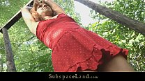 Young teen slave driven in the forest for bonda... Thumbnail