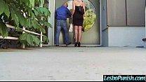 (Gigi&stevie) Hot Lesbo Get Sex Toy Punish By Mean Lesbian Movie-15