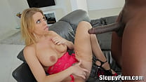 Lexington Steele fucks a horny blonde Brittney Amber