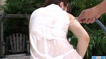 Sweet outdoor solo masturbation with Yuri Sato ⁃ Bhuvaneswari Nude thumbnail