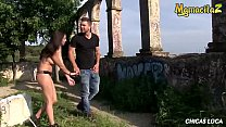 MAMACITAZ - Lovely Babe Frida Sante Outdoor Drilled By Big Cock's Thumb