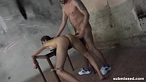 3 of the best struggling submissed babes tied and fucked hardcore Image
